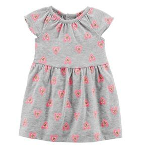 Carter's heart dress and bloomers
